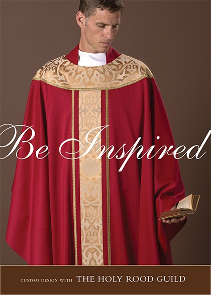 Be Inspired: create custom design ~ begin with our classic Canterbury Chasuble