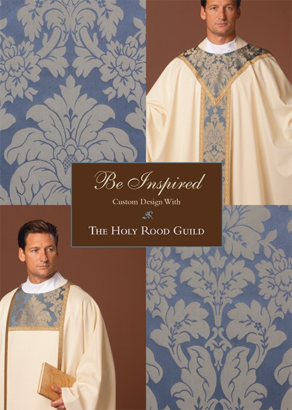 Be Inspired: create custom design ~ begin with our classic Cloisters Chasuble