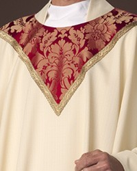Cloisters Red on Cream Chasuble
