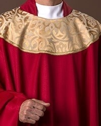 Canterbury Red Chasuble